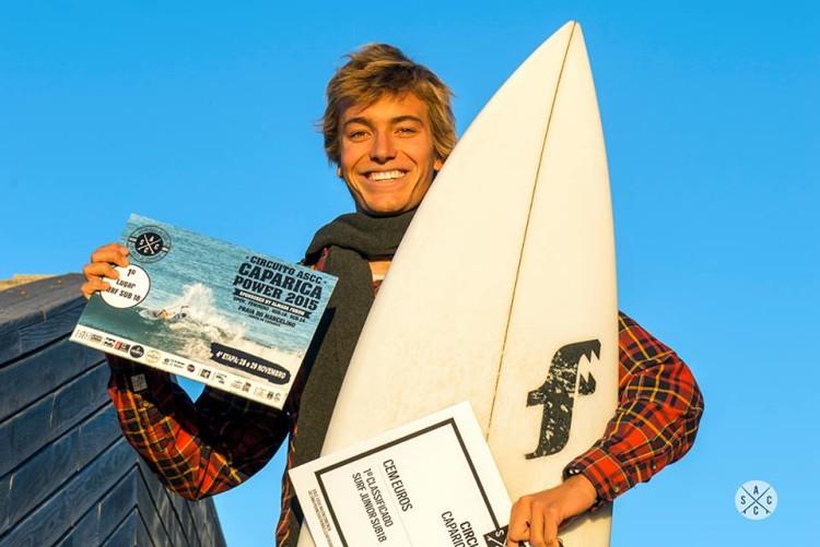 Jakob Lilienweiss, vencedor Sub-18 da última etapa do circuito ASCC Caparica Power (®ASCC)