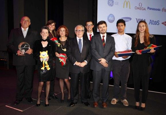Desportistas homenageados pelo Comité Olímpico de Portugal (®COP)