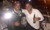Chegada a Hobart. Luís Brito, à esquerda, com o colega de aventura Alex Gilbert, que diz que o português é um dos melhores navegadores oceânicos com quem já velejou (®DR)