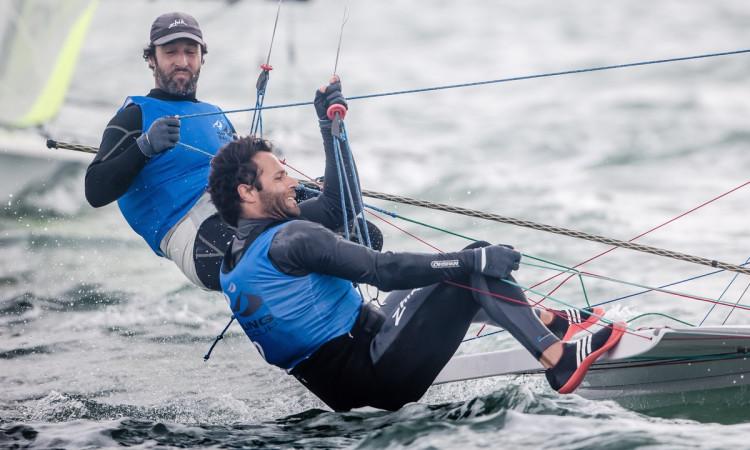 José Costa e Jorge Lima fizeram 2º lugar na etapa de Miami da Taça do Mundo de Vela (®JesusRenedo/SailingEnergy/WorldSailing)