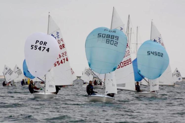 Classe 420 está reforçada este ano com a forte aposta do Ginásio Clube Naval de Faro a dar frutos (®GCNF)