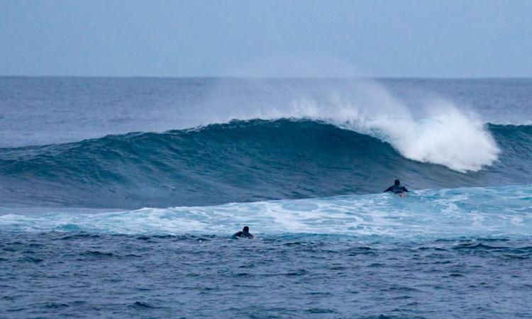 João de Macedo e Jácome Correia encontraram hoje boas ondas na Graciosa (®EDPMarSemFim)