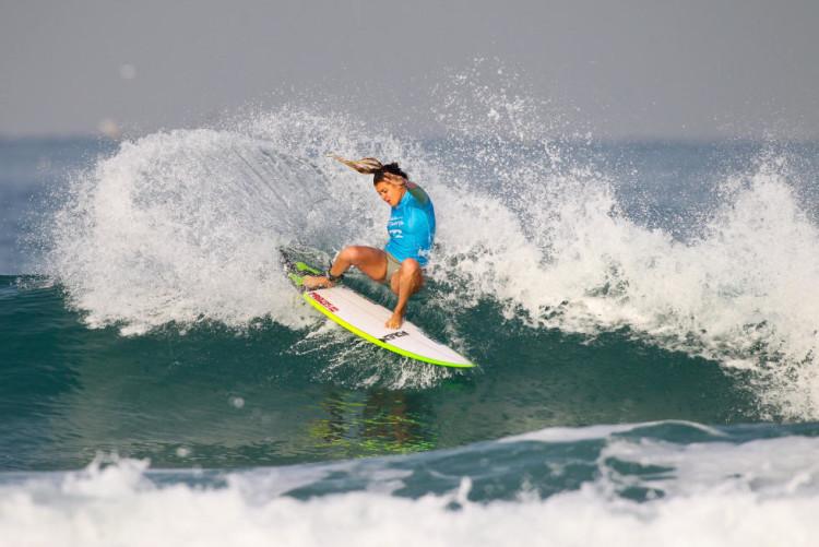 Portuguesa Carol Henrique fez 3º lugar em Netanya (®WSL/LaurentMasurel)