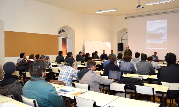 Sessão de apresentação do Curso de Formação de Treinadores de Surf Grau I no ISMAT, em Portimão (®PauloMarcelino)