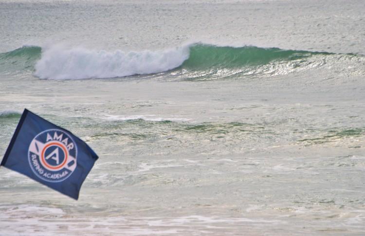 Amar Surfing Academia está a planear começar a levar atletas ao Nacional (®LuisGamito)
