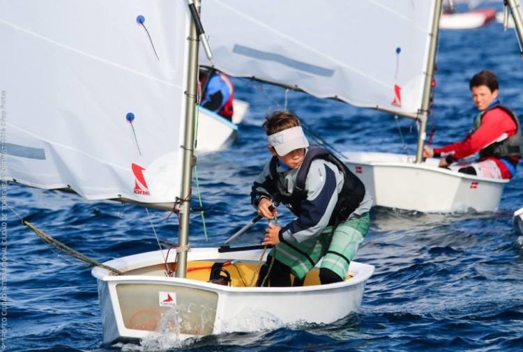 Guilherme Cavaco, Vice-Campeão de Portugal Infantis, venceu três regatas em Torrevieja (®JoaquinCarrion)