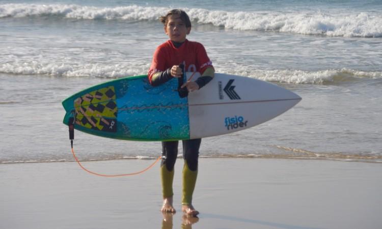 Martim Brandão,. sobrinho de Ivan Bailote, reforça a equipa de Albufeira na categoria Sub-12 (®PauloMarcelino/Arquivo/Nov15)