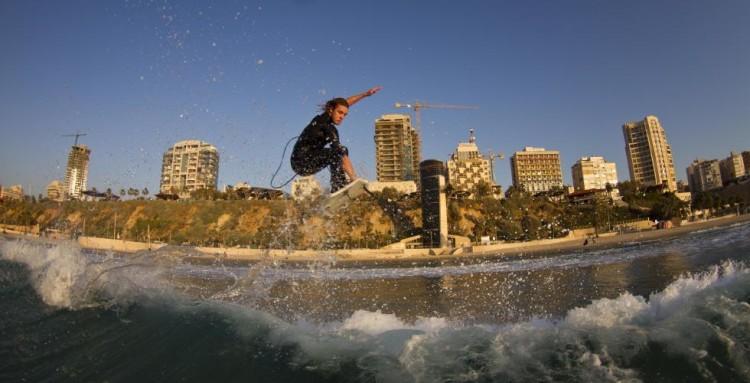 Evento vai decorrer na Praia Kontiki, en Netanya, Israel (®WSL/JohnRespondek)