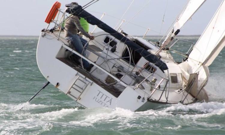 'Titá' foi protagonista da maior recuperação: 5º na segunda regata, depois de ter sido 10º em dezembro (®GCNF)