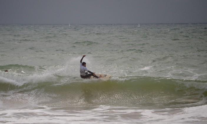 CRSSul 2016 #1 | Praia da Falésia, Vilamoura | Bruno Gregório, vencedor Sub-16 e Sub-18 (®PauloMarcelino)