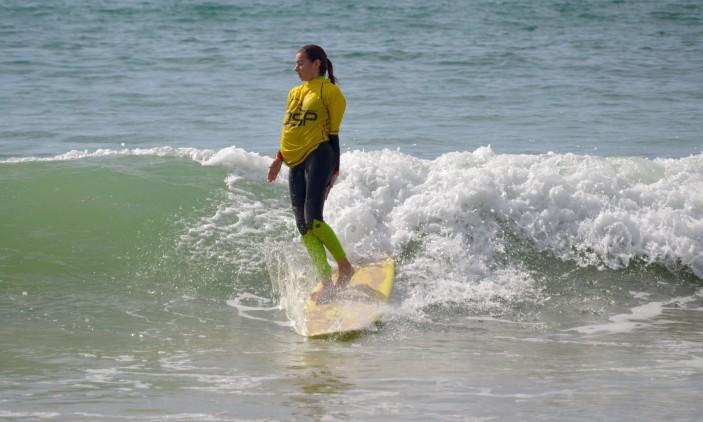 CRSSul 2016 #1 | Praia da Falésia, Vilamoura | Daniela Campos, estreia Longboard, 4º lugar (®PauloMarcelino)