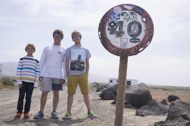 Surf Trip PTMSC 2015   Lanzarote   João Maria Mendonça, Tomás Couto e Henrique Poucochinho (®JoaoBrekBracourt)