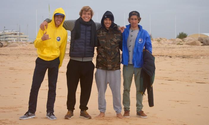 CRSSul 2016 #1 | Praia da Falésia, Vilamoura | Francisco Duarte, Jakob Lilienweiss, Francis Gregório e 'Martim' Magalhães (®PauloMarcelino)