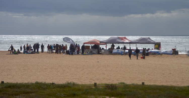 CRSSul 2016 #1 | Praia da Falésia, Vilamoura, 8 e 9 de fevereiro  (®PauloMarcelino)