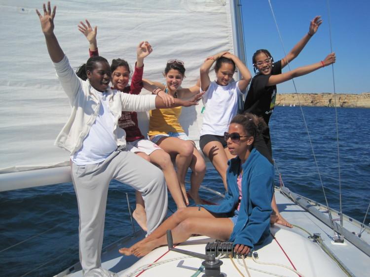 Equipa feminina da Vela Solidária deverá participar em 4 regatas costeiras este ano (®VelaSolidaria)