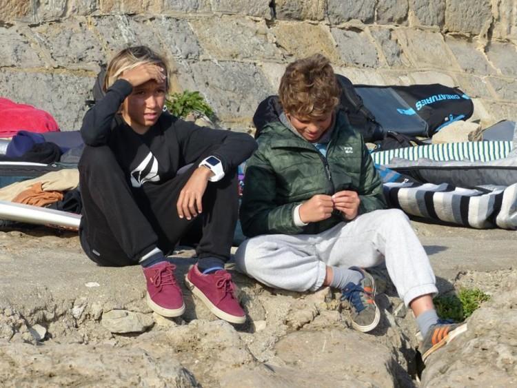 João Maria Mendonça (à direita) tem 10 anos e foi chamado para as categorias Sub-14 e Sub-16 (®FPS)