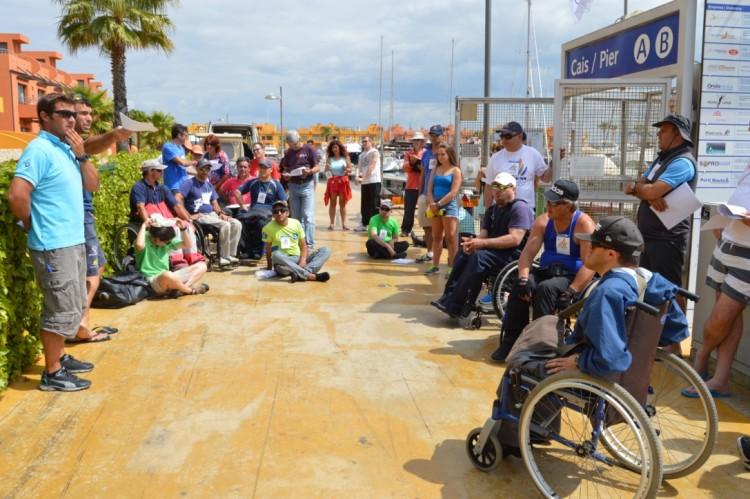 Pólo central da Vela Solidária funciona na Marina de Portimão (®PauloMarcelino/Arquivo)