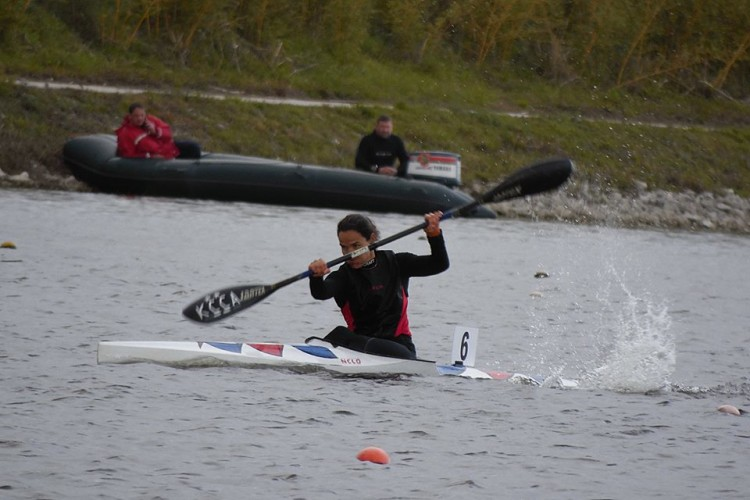 Ana Bebiano, do KCCA, foi a sexta mais rápida nacional na sua categoria, nos 200 metros (®KCCA)