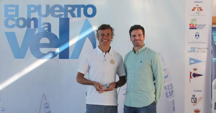 Madeirense João Rodrigues (à esquerda) vai representar Portugal nos Jogos Olímpicos pela sétima vez (®FPV)
