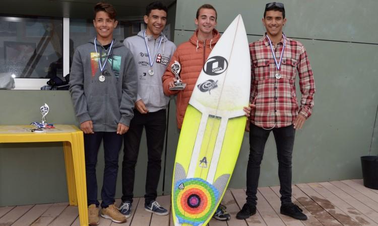 Pódio Juvenis Surf Masculino (®PauloMarcelino)