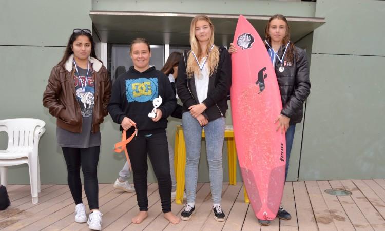 Pódio Open Surf Feminino (®PauloMarcelino)