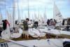 Primeiro dia de regatas, esta quarta-feira, foi cancelada devido a maus estado do mar na barra (®CNFigueiraFoz)
