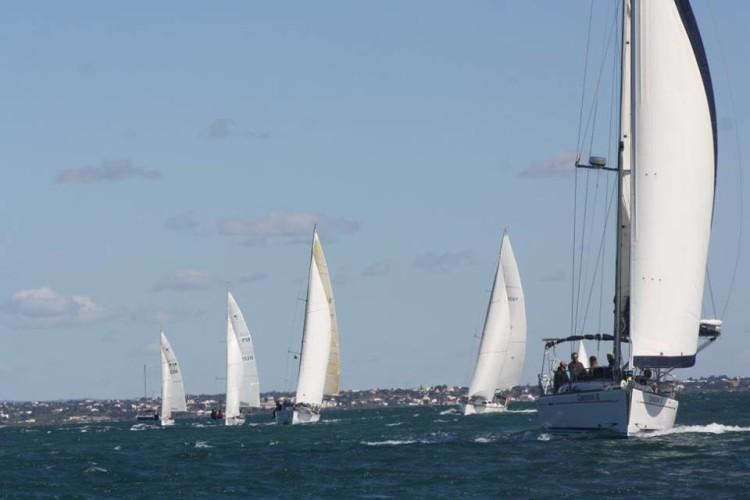 Frota na 3ª Regata foi composta por 19 barcos. Um total de 36 participaram nas 3 resgatas do troféu (®ManuelBelchior)