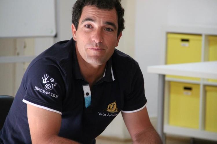 Luís Brito tem dedicado os últimos anos ao projeto social Vela Solidária (®DR)