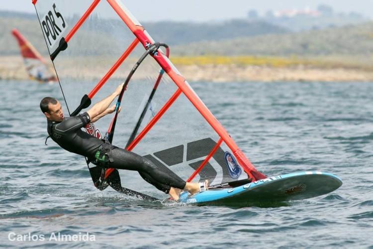 Algarvio Miguel Martinho venceu as duas únicas regatas realizadas na etapa (®CarlosAlmeida)