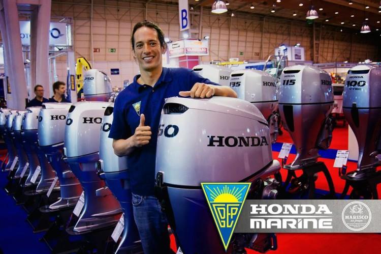 Algarvio Jody Lot está este ano no Grupo Desportivo Estoril Praia, com o apoio Honda Marine (®DR)