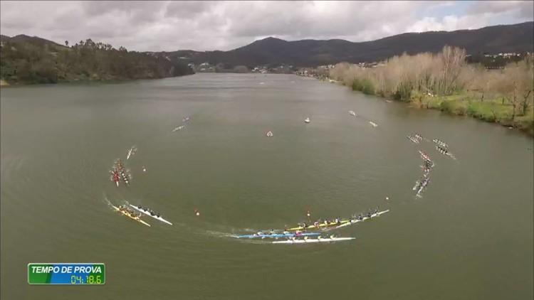 Campeonato Nacional de Fundo é a 'prova rainha' da Canoagem em Portugal e juntou um milhar de atletas no Rio Douro (®FPC)