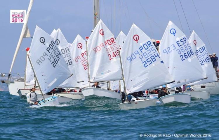 2º Evento-Teste, 15 a 19 de abril, para o Mundial Optimist em Vilamoura, 25 junho a 4 de julho (®RodrigoMRato)