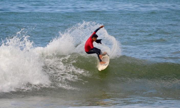 3ª Etapa CRSSul 2016 | Praia da Rocha | Bruno Gregório, vencedor Sub-18 (®PauloMarcelino)