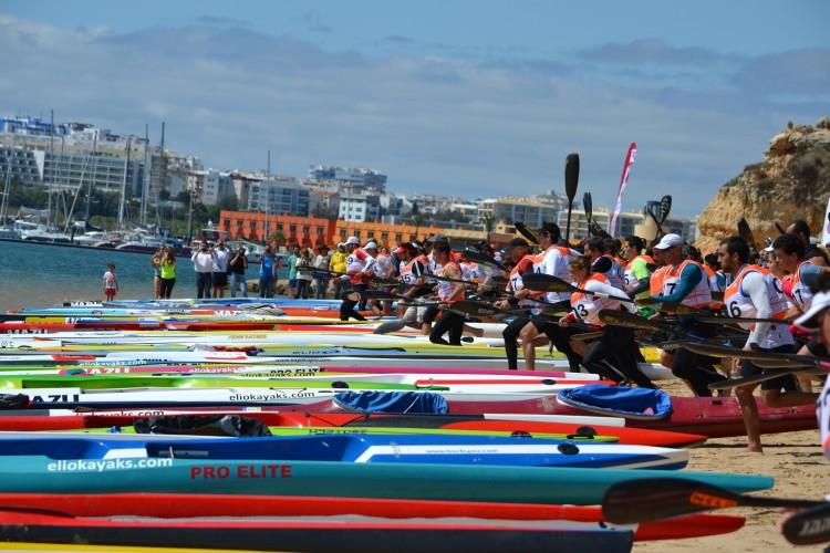 Prova algarvia teve 150 atletas na água, um novo recorde de participação (®KCCA)