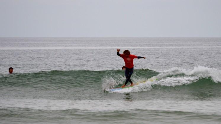 3ª Etapa CRSSul 2016 | Praia da Rocha | Isaac Felizardo, vencedor Longboard (®PauloMarcelino)
