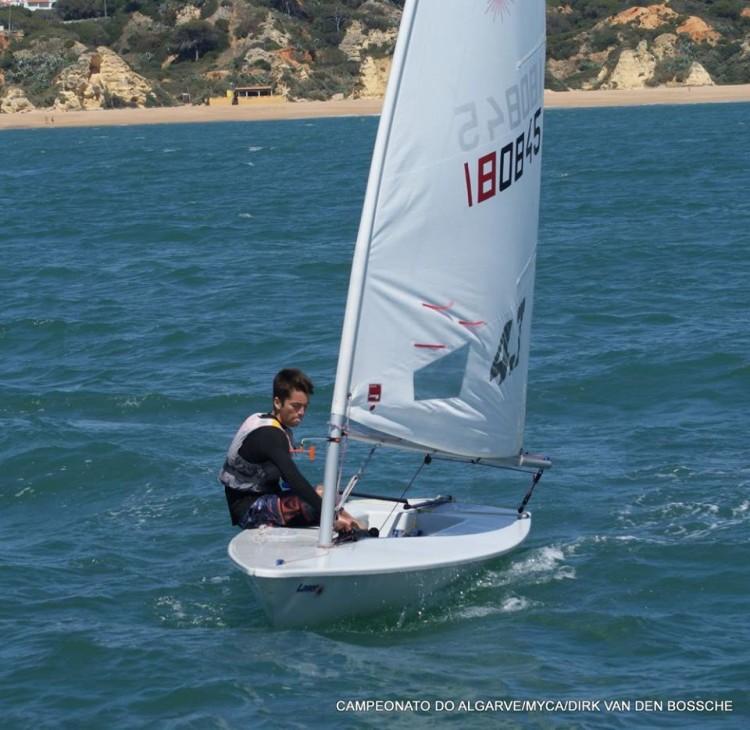 João Abrantes dominou por completo a prova na classe 4.7 (®DirkVanDenBossche/MYCA)