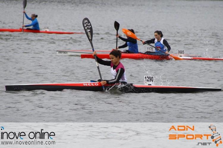 Ana Bebiano, do Kayak Clube Castores do Arade, sagrou-se Campeã Nacional K1 Veteranos A Feminino (®KCCA)