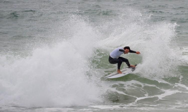 "Surfista de Lagos promete: ""Para o ano estamos cá"" (®PauloMarcelino/Arquivo)"