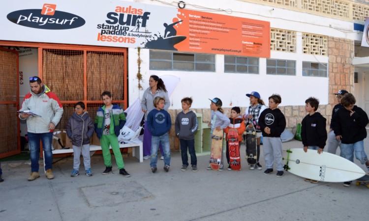 'Pódio' Sub-10, 3ª Etapa CRSSul 2016, Praia da Rocha (®PauloMarcelino)