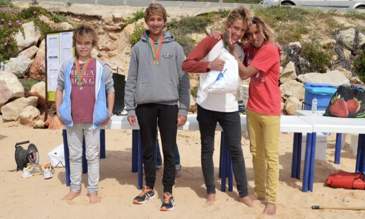 Pódio Surf Iniciados (®PauloMarcelino)