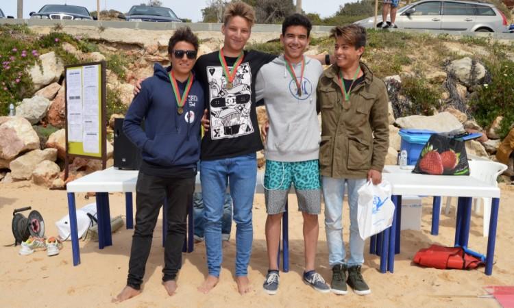 Pódio Surf Juvenis Masculino (®PauloMarcelino)