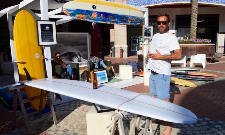 Surfer and surf photographer João 'Brek' Bracourt is an ambassador for the Retro Movement brand (®PauloMarcelino)