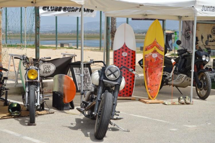 No espaço do evento estarão expositores de motos 'old school' e pranchas de surf clássicas, como em 2015 (®PauloMarcelino/Arquivo)
