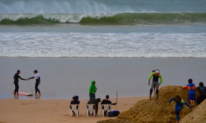 Encontro Regional de Surf & Bodyboard Escolar | 2016-04-08 | Praia da Galé (®PauloMarcelino)