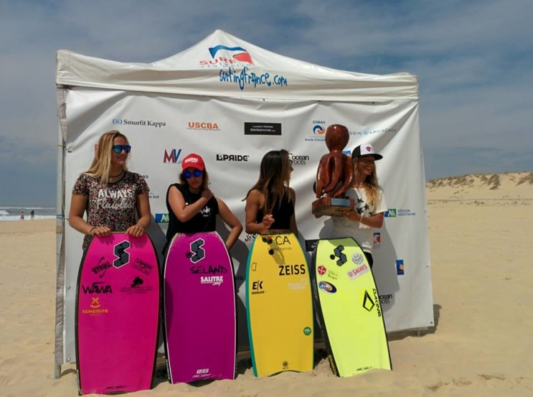 Women's finalists at La Salie (®ESF)