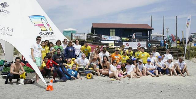 Evento teve 20 participantes auxiliados por três dezenas de voluntários (®DR)