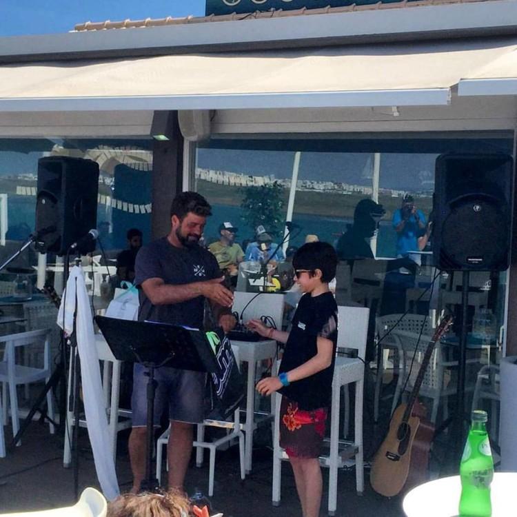 Nico Garcia, espanhol de 13 anos que venceu o Prémio Melhor Estilo no Campeonato de Manobras no Bico da Prancha de Longboard (®DR)