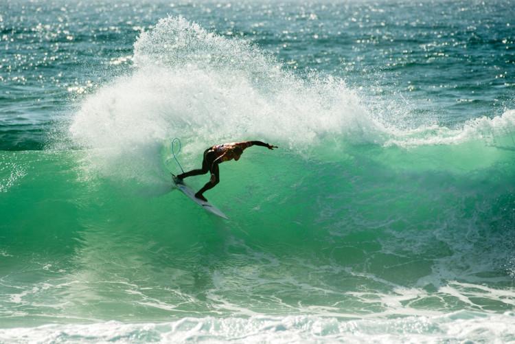 João Guedes, campeão nacional 2009, ainda não venceu a etapa na sua praia, Porto (®PedroMestre/ANS)