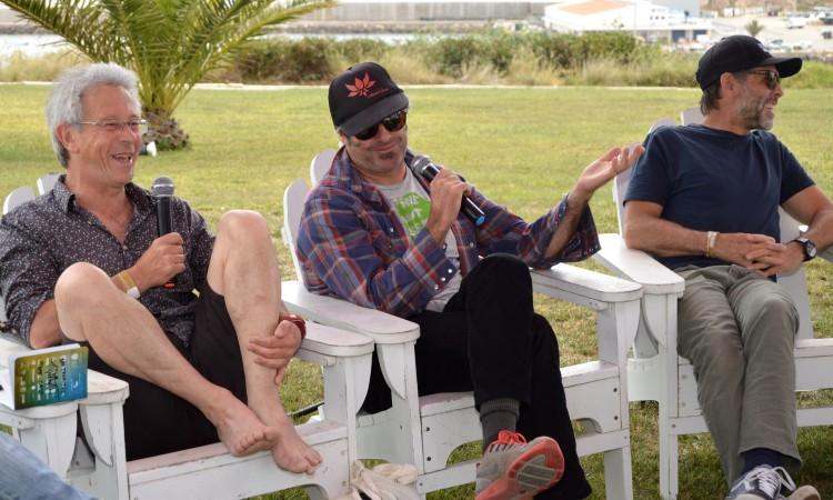 Chris Hines, Andrew Kidman e Wolfgang Bloch (®PauloMarcelino)