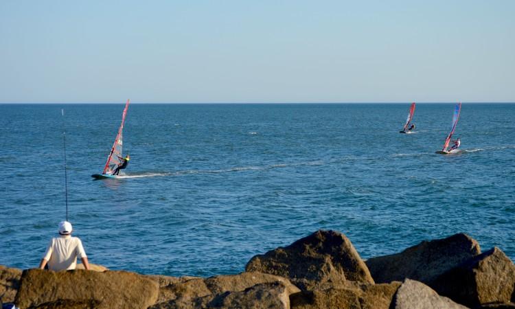 Última regata desta quinta-feira terminou pelas 19h30 (®PauloMarcelino)